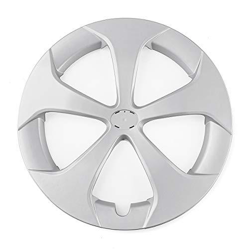 YONGYAO 40.8Cm Plata Plástico Rueda Rueda Cubierta para Toyota Prius/Prius C 2012-2015
