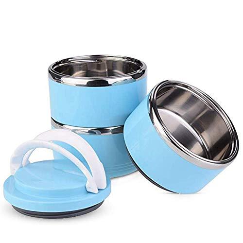 YOUTHINK Portable Comedero y Bebedero para Viaje Acero Inoxidable Bowl Kit para Perros y Gatos Cuenco para Agua y Comida Prueba de Derrames Contenedor de Alimentación para Viajes al Aire Libre