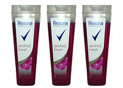 Rexona Shower Gel For Her, Orchid Fresh Duschgel, 250 ml (3er pack)