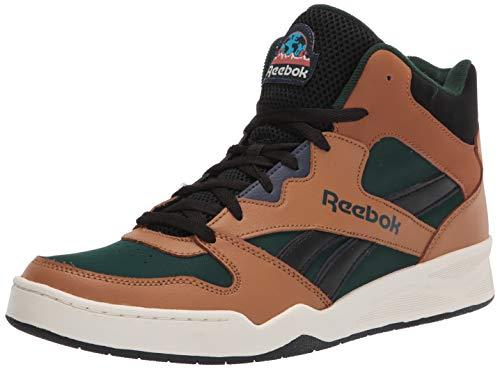 Reebok Men's BB4500 Hi 2 Sneaker, Wild Brown/Forest Green/Black, 11.5