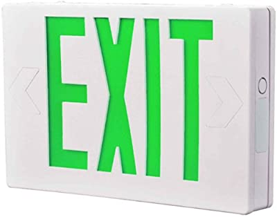 All-Pro Emergency AC Only LED Exit Sign