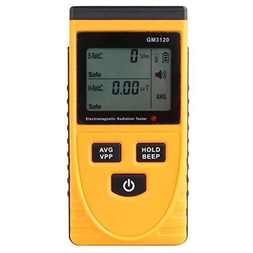 SYXZ EMF-Messgerät, elektromagnetische Strahlung, Dosimeter, Detektor, elektrischer Feld-Emissionstester L gelb