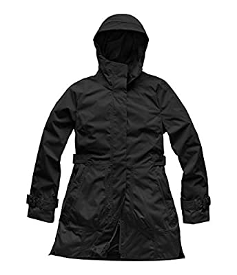 The North Face Women's City Breeze Rain Trench, TNF Black, Large by The North Face
