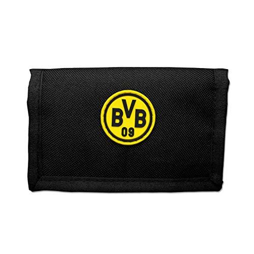 Borussia Dortmund Geldbörse - Logo - schwarzgelb, Portemonnaie, Geldbeutel BVB 09 (L)