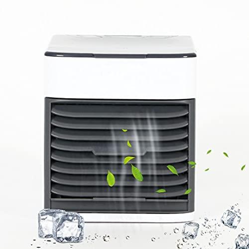 Mini aire acondicionado de agua climatizador portátil ventilador humidificador refrescante de aire casa oficina silencioso