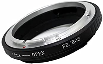 Paddsun FD-EOS Adapter Ring Lens Mount for Canon FD Lens to Fit for EOS Mount Lenses