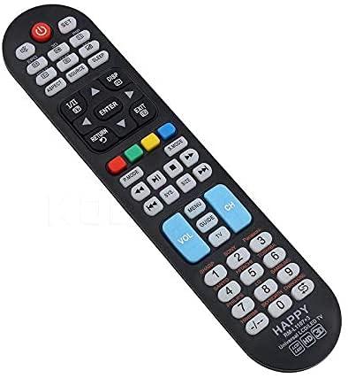 FireRune Geeignet zum Ersetzen des for All Contour TV Universal Fernbedienung TV - Steuerung von/Smart TV - Funktioniert garantiert mit Allen Herstellermarke-RM-L1107