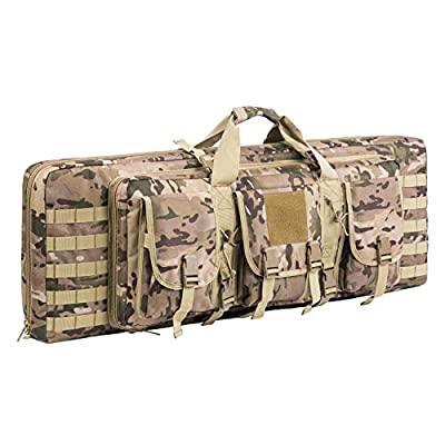XWLSPORT Rifle Case Double Tactical Rifle Bag Gun Cases for Rifles
