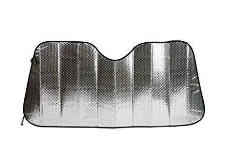 エマーソン スジガネ入りサンシェードMサイズ 遮光 断熱 吸盤不使用 簡単着脱 丈夫で長持ち 600x1300mm EME...