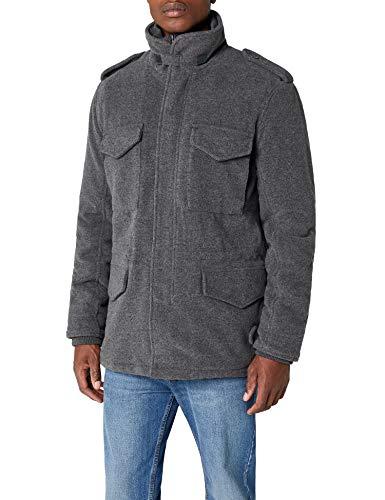 Brandit Herren M65 Voyager Wool Jacke, Grau (Anthrazit 5), Large