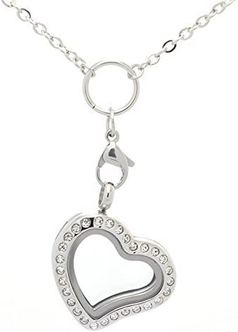 Ohana Hawaii Large 30mm stainless steel memory locket with choice of stainless steel chain