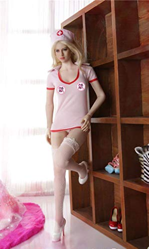 ZSMD Figure Accessories Figure Clothes B Set 1/6 Big Chest Figure Sex Nurse Clothing Sets 1/6 Figure Sexy Nurse Uniform Lingerie 12