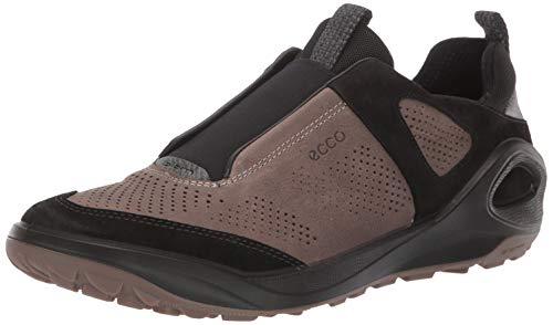 Ecco Outdoor Men's Biom 2Go Slip On Hiking Shoe, Black/Dark Clay, 44 M EU (10-10.5 US)