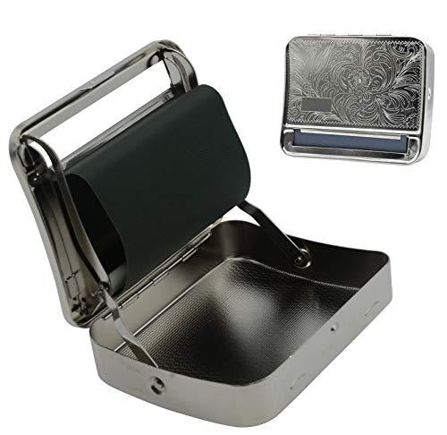 Rolling Machine Metal Automatic Cigarette Tobacco Roller Box Case & Storage Box