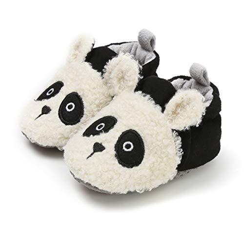 CoKate Baby Boys Girls Soft Plush Slippers Bear...