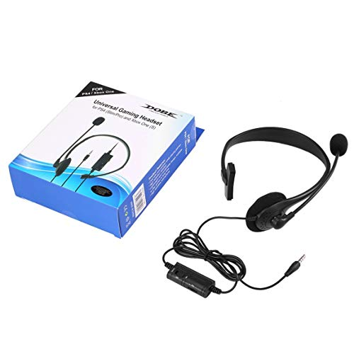 Funnyrunstore Universal Gaming Headset para PS4 Slim/Pro
