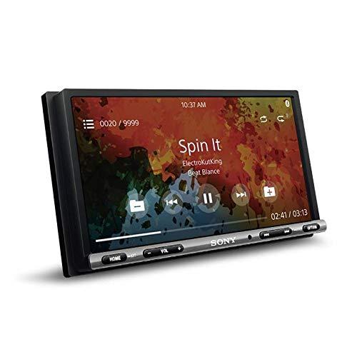 Sony XAV-AX3000 AV Receiver with Android Auto and Apple Car Play (Black)