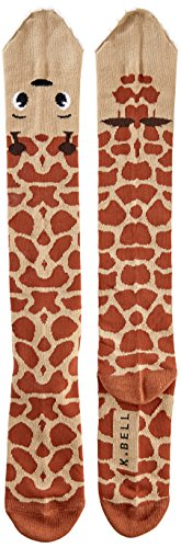 K. Bell Socks womens Leg Eater Novelty Casual Knee High Socks