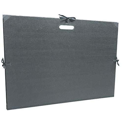 Clairefontaine 38929C - Carpeta de dibujo con asa, 52 x 72 cm, color negro