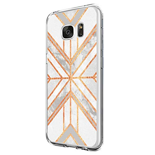 Funda Compatible con Galaxy S6/Galaxy S6 Edge, Funda para Suave Silicon Ultra Slim Fina Protección a Bordes y Cámara Compatible con Galaxy S6 Edge Plus -Transparente (Samsung Galaxy S6, 4)