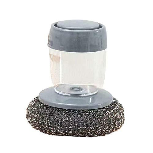 OPGFWAY Cepillo de limpieza multifuncional con detergente (cepillo de acero)