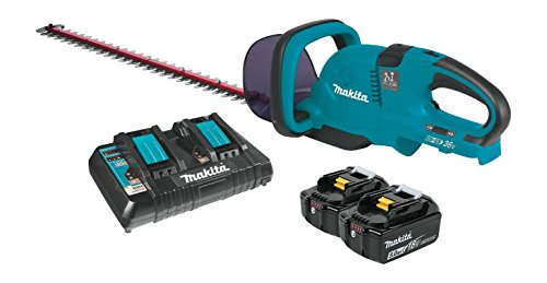 For Sale! Makita XHU04PT 18V X2 (36V) LXT Lithium-Ion Cordless (5.0Ah) 25-1/2 Hedge Trimmer Kit, 25...