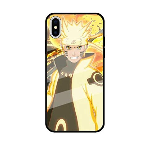 Carcasa para iPhone 11 Pro 6 6S 7 8 Plus X XR XS MAX Naruto Soft TPU Back Cover Coque-Photo_Color_6/6S