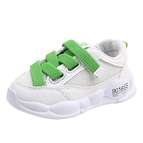 WEXCV Schuhe Kinder Unisex Baby Jungen Mädchen Sport Running Turnschuhe Netzoberfläche Leicht Sneaker Herbst Casual Laufschuhe Anti-Rutsch Freizeitschuhe