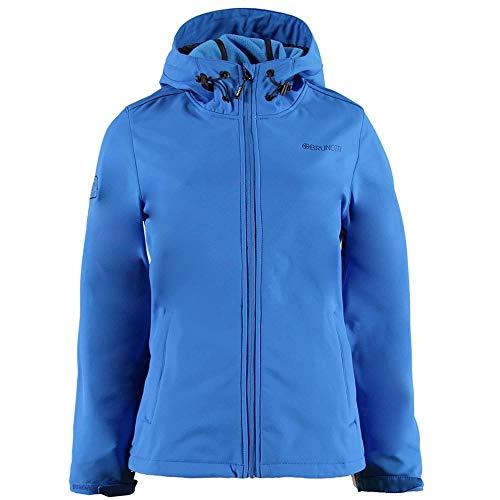 Brunotti Damen Joskos Women Softshell Jacke, Neon Blue, M
