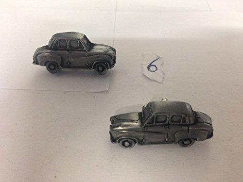 Austin A30 BERLINE 4 PORTES 3D Boutons de manchette Homme-Classique-Bouton de manchette en étain Effet ref6