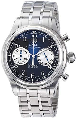 [ボールウォッチ] 腕時計 トレインマスターキャノンボール グレー文字盤 自動巻き CM1052D-S2J-GY メンズ 並行輸入品 シルバー
