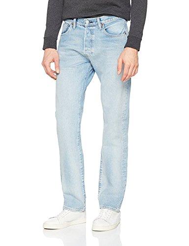 Levis Herren Jeans 501 ORIGINAL FIT 00501-2550 Hellblau, Hosengröße:31/34