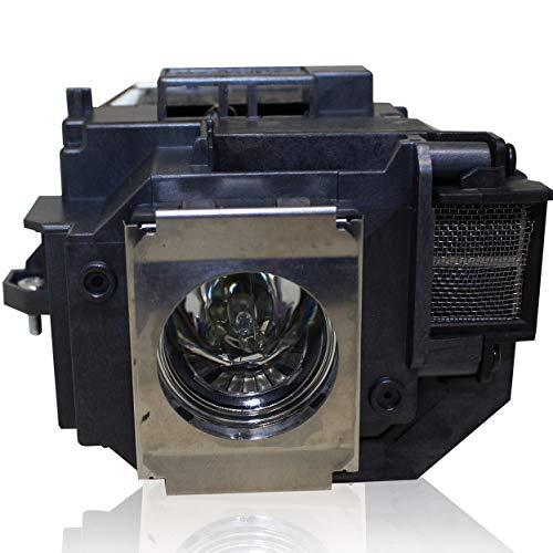 PanPacSight Bombilla Proyector ELPLP58 Compatible con Epson EB-S9 EB-S92 EB-W10 EB-W9 EB-X10 EB-X9 EB-X92 EB-S10 EX3200 EX5200 EX7200 H367A H367B H368B, PowerLite 1220 1260 S10+ S9, VS200 Lampara