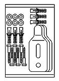 Roca av0017500r Ersatz Kit Schrauben Haken Urinal-WC-Colleción–Urin)–verschiedene Series