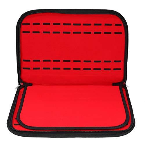 DPYF Caja de Almacenamiento de Reloj de Terciopelo de Cuero PU de 20 Ranuras Caja de Almacenamiento Caja de Almacenamiento con Cremallera decoración de contenedores