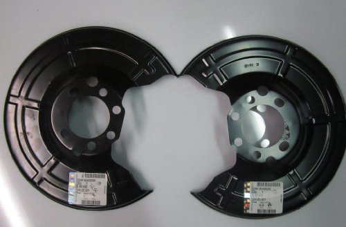 mächtig der welt 2x Bremsankerplatte für Astra G und Astra H546435 Ankerplatte hinten