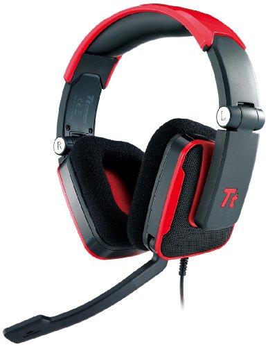 Tt eSPORTS Shock Gaming Headset HT-SHK002ECRE, red