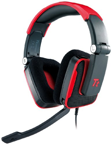 Tt eSPORTS Shock Gaming Headset HT-SHK002ECRE, red