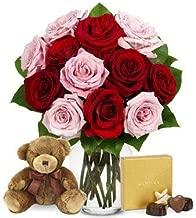flowers bear chocolate