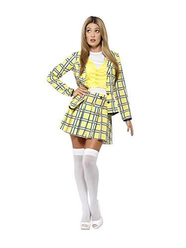 Smiffys 20597S - Damen Cher Kostüm, Clueless, Größe: 36-38, gelb