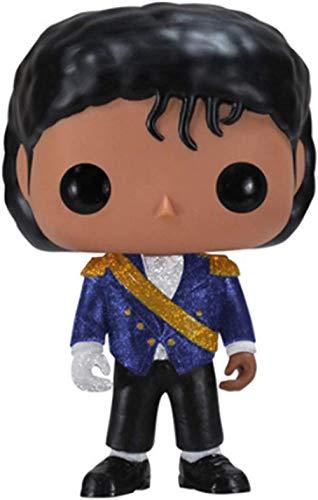 WangMaZi Funko Pop Michael Jackson Celebrity Doll Figura Muñeca Colección de Adornos de Juguete-C