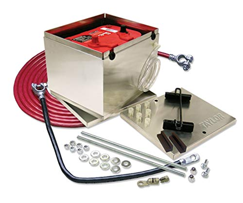 taylor (48201 200 Series Aluminum Battery Box with 2-GA Cable