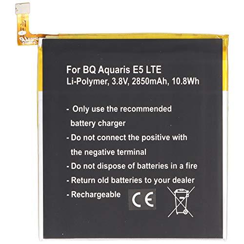 Batería para BQ Aquaris 0759, 0760, 0858, Aquaris E5 4G, Aquaris E5 LTE, Aquaris E5.0 Li-Polymer 3,8 V 2850 mAh