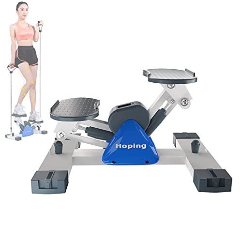 【5 年 保 証】健康ステッパー 室内運動器具 すてっぱー ステップ器具 ウォーキングマシン 健康器具 歩行運動 有酸素運動 踏み台昇降 ステップ台 山登り感覚 脂肪燃焼 mini 3d マットは無料にて提供させていただきます