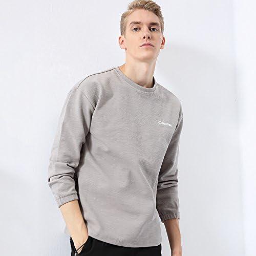 La Mode Masculine Pull Pull t - Shirt Manche tête Veste Gilet Base Mode d'impression,gris Clair,XL