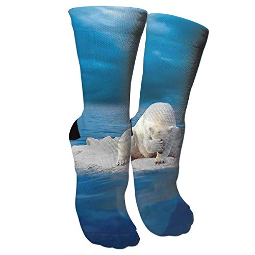 ouyjian Calcetines de Crazy Socks Polar Bear 3D