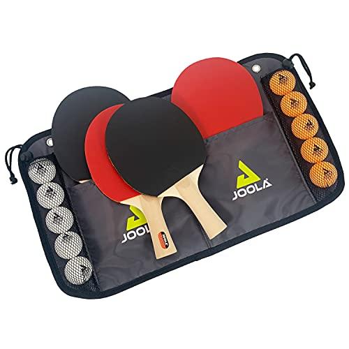 JOOLA FAMILY Set de tennis de table - 4 raquettes / 10 balles