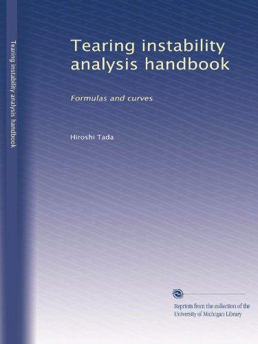 Tearing instability analysis handbook: Formulas and curves