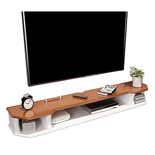 Mobile TV, TV Lowboard, scaffali mobili, scaffale per componenti del supporto TV galleggiante, armadietto TV a parete 90-150 cm, cabinet TV a parete, consolle multimediali in legno scaffali flottanti