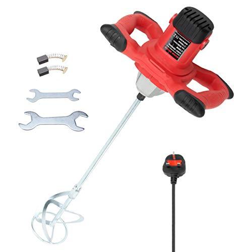 2100W Mortar Mixer,KingShowden Electric Mortar Mixer Anti-Slip Handheld...